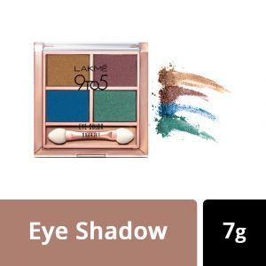 Lakme 9 To 5 Eye Quartet Eyeshadow - Royal Peacock (7gm)