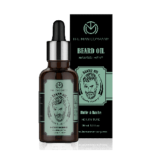 The Man Company Lavender & Cedarwood Softening & Shine Beard Oil (30ml)